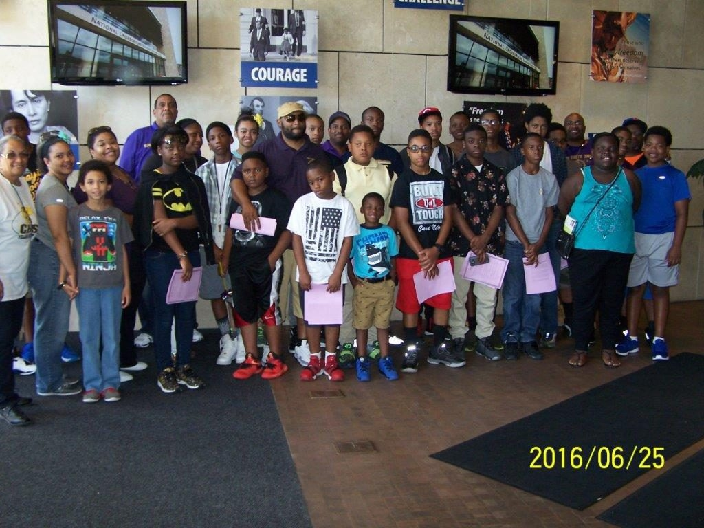 June 25, 2016, Field Trip to Underground Railroad Museum in Cincinnati, OH