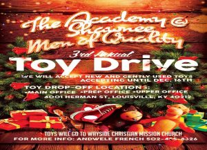 Third Annual Holiday Toy Drive