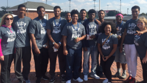 Doss High School MoQ Members Participate in Junior Diabetes Walk